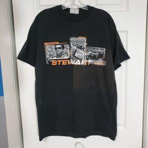 Retro '01 Nascar Tony Stewart Double-Sided T-shirt